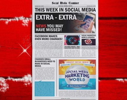 Social Media Marketing - Group Video Chat From Facebook Messenger: This Week in Social Media
