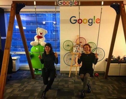 SEO - Search in Pics: Google swing set, bike trailer & goggles