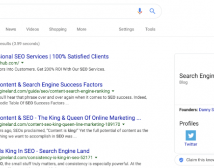 PPC - Google working to disable knowledge graph hack that shows misleading search results