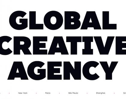 Web Design - Web Design Trend: Big and Bold Typography