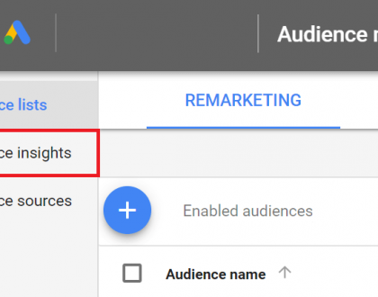 PPC - Using insights to find new audiences to test for awareness campaigns