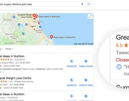 PPC - What do the symbols mean in Google's Map Pack and Local Finder?