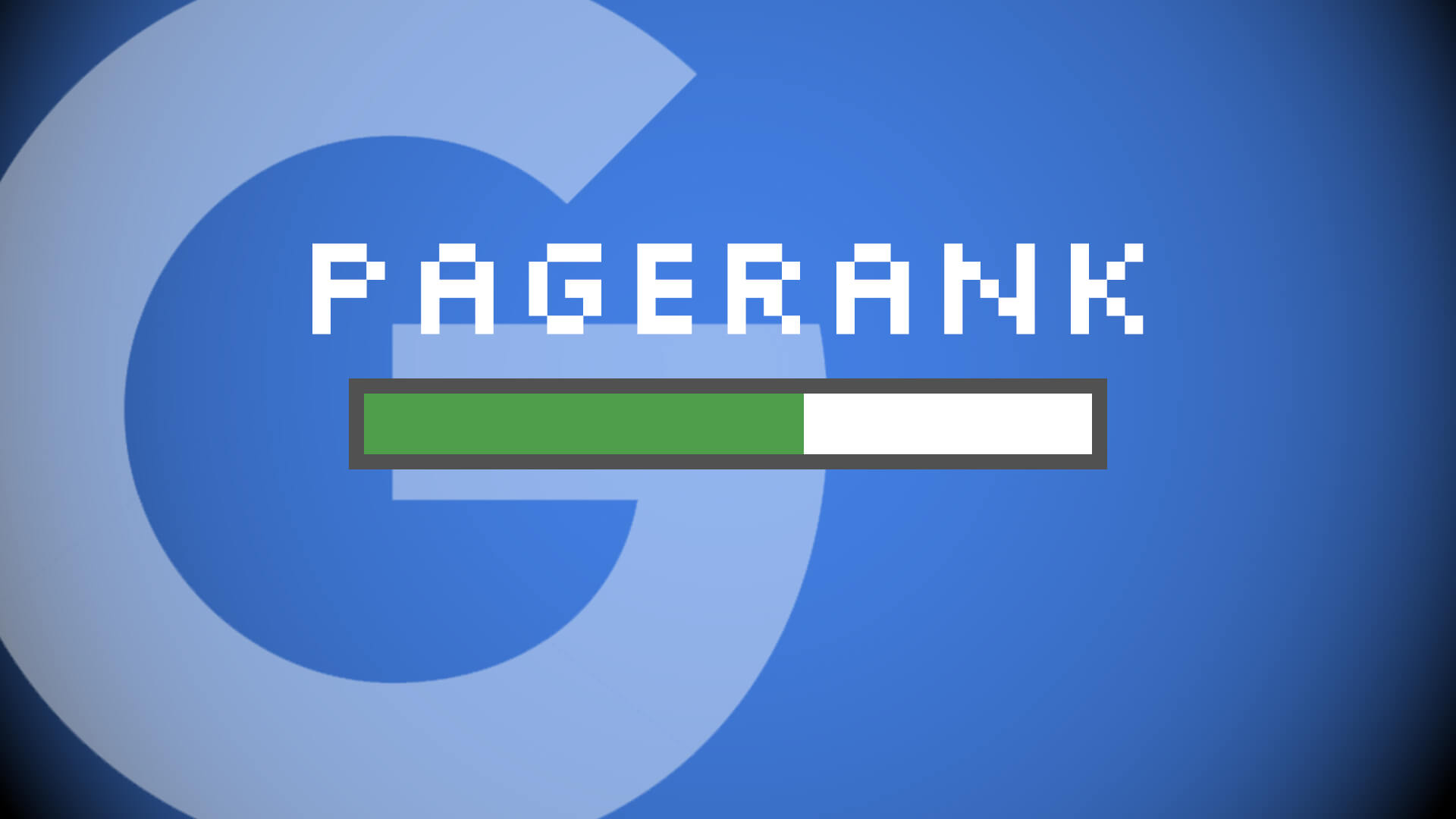 SEO - Why we shouldn't forget about PageRank in 2019