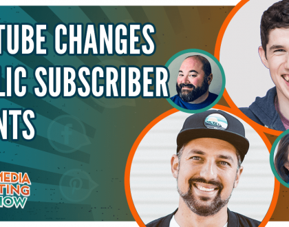 Social Media Marketing - YouTube Changes Public Subscriber Counts