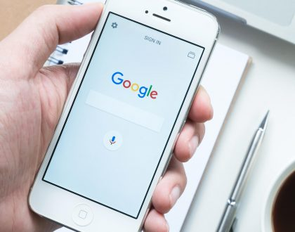 "SEO - Google rolling out mobile search redesign with black ""Ad"" label, favicons for organic results"