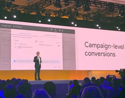 PPC - Campaign-level conversion actions now live for Google search, display campaigns