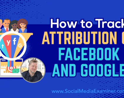 Social Media Marketing - How to Track Attribution on Facebook and Google