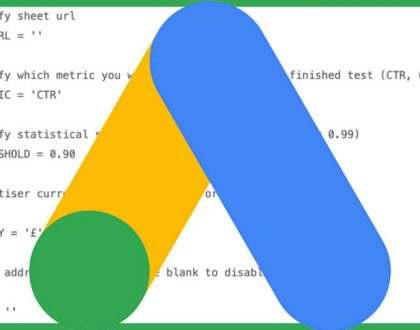 PPC - Track your ad tests at scale with this advanced AdWords script