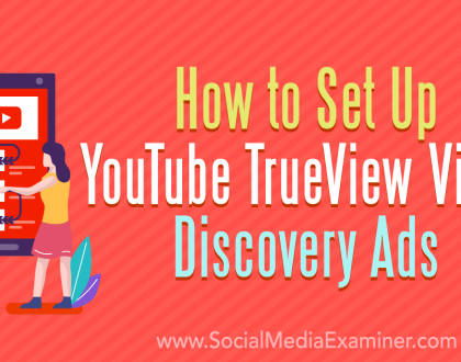 Social Media Marketing - How to Set Up YouTube TrueView Video Discovery Ads