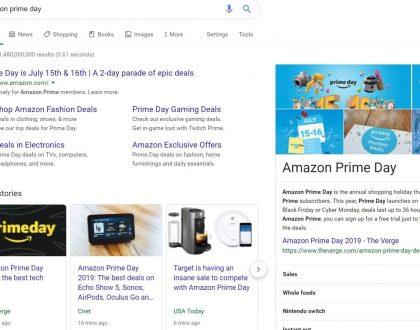 "PPC - Amazon's got a PPC lock on ""Prime Day"""