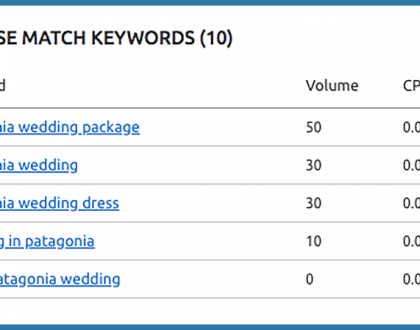 PPC - Why it's worth targeting keywords with no-to-low monthly search volume