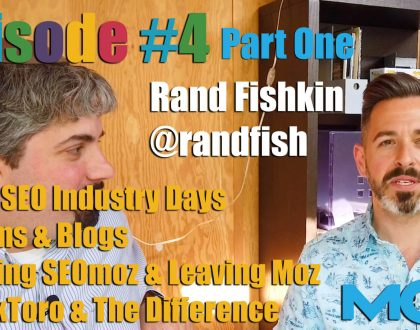 SEO - Video: Rand Fishkin on the early days of SEO and starting and leaving Moz