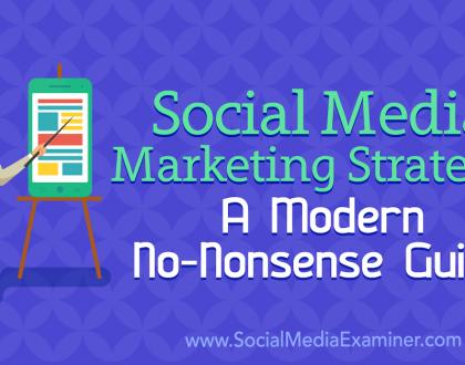 Social Media Marketing - Social Media Marketing Strategy: A Modern No-Nonsense Guide
