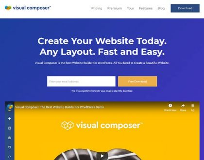 Web Design - Visual Composer Hub Lets You Create WordPress Pages with Ease
