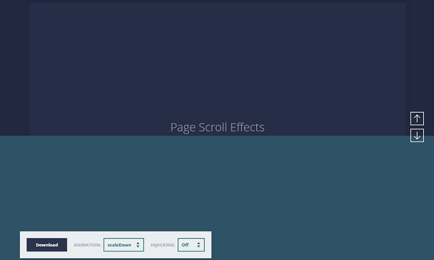 Page Scroll Effects
