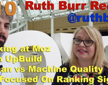 SEO - Video: Ruth Burr Reedy on human-readable Google ranking signals
