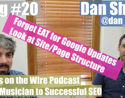 SEO - Video: Dan Shure on Google core updates and podcasting