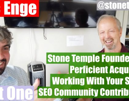 SEO - Video: Eric Enge on building and selling his SEO agency
