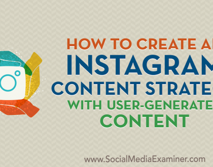 Social Media Marketing - How to Create an Instagram Content Strategy With User-Generated Content