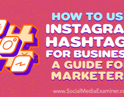 Social Media Marketing - How to Use Instagram Hashtags for Business: A Guide for Marketers
