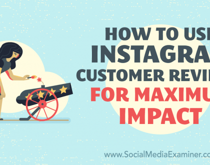 Social Media Marketing - How to Use Instagram Customer Reviews for Maximum Impact