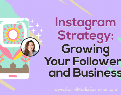 Social Media Marketing - Instagram Strategy: Growing Your Followers and Business