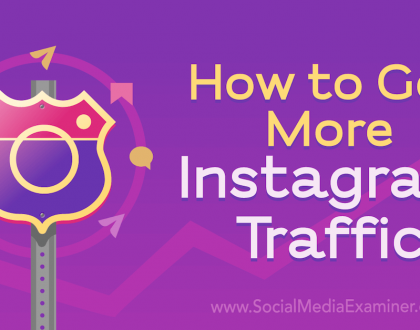 Social Media Marketing - How to Get More Instagram Traffic