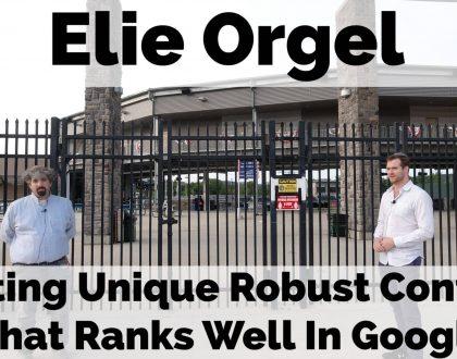 SEO - Video: Elie Orgel on leveraging data for unique content
