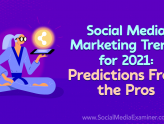 Social Media Marketing - Social Media Marketing Trends for 2021: Predictions From the Pros