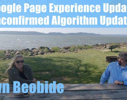 PPC - Video: Dawn Beobide on Google confirmed vs unconfirmed algorithm updates