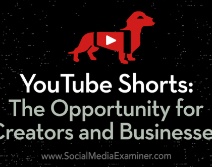 Social Media Marketing - YouTube Shorts: The Opportunity for Creators and Businesses
